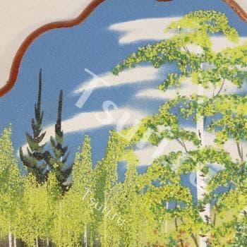 Сувенир из камня Летний Лес