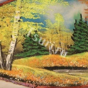 Картина из самоцветов Осень