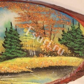 Подарок картина Осень