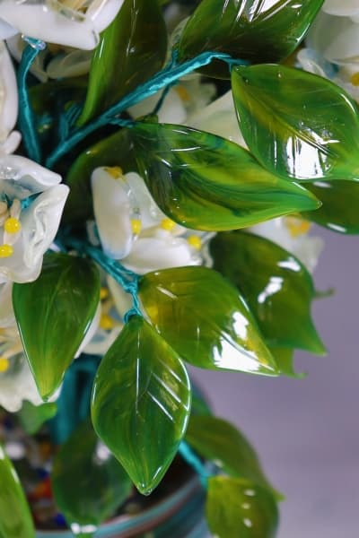 Стеклянный сувенир Райский Жасмин