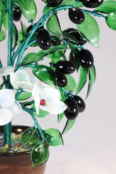 Подарок из стекла Цветочный Букет