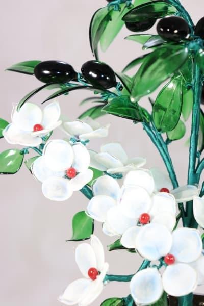 Стеклянный сувенир Цветочный Букет