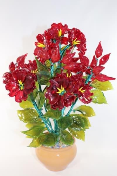 Цветок из стекла