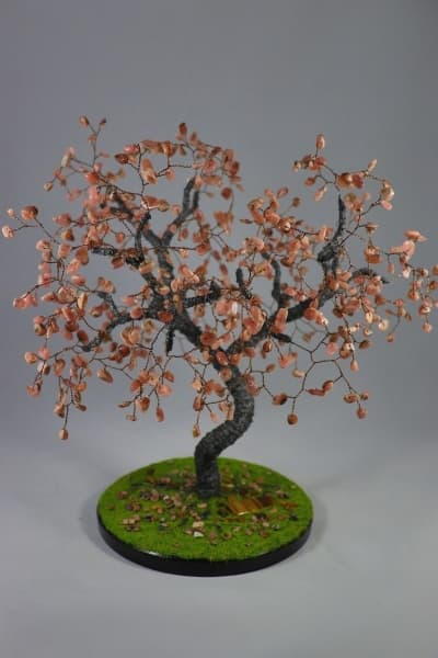 Дерево счастья из родохрозита
