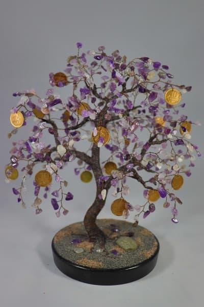 Денежное дерево из аметиста