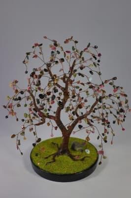 Дерево счастья из турмалина