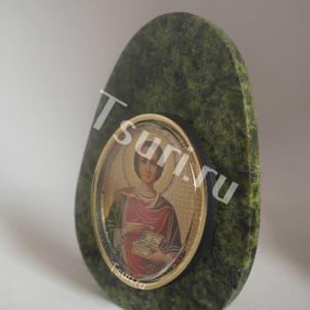 Яйцо. Образ св. Пантелеймона