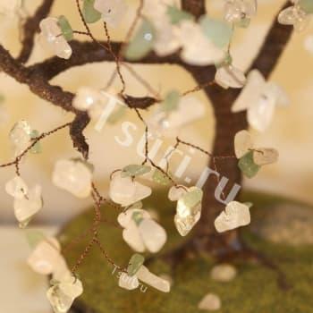 Дерево из камня Цветущее Дерево Счастья