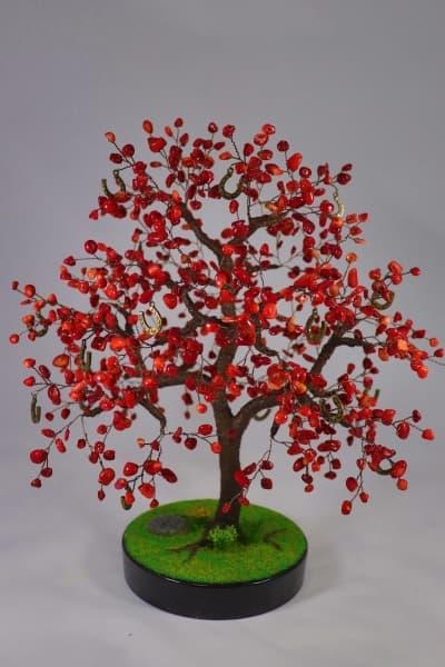 Дерево счастья из коралла