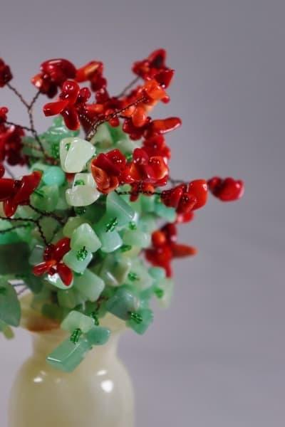 Сувенир из камня Цветочный Букет ru00405