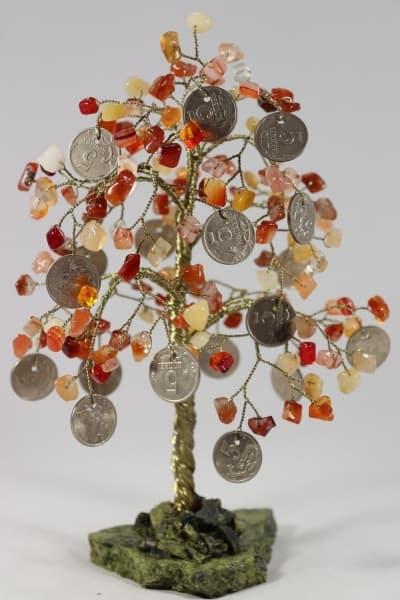 Денежное дерево из сердолика