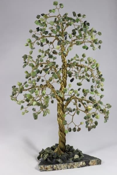 Дерево счастья из нефрита