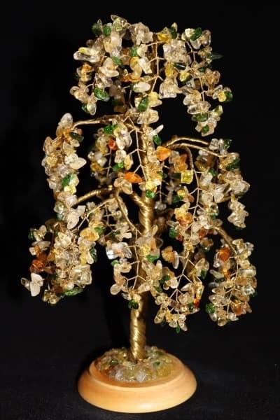 Дерево из цитрина