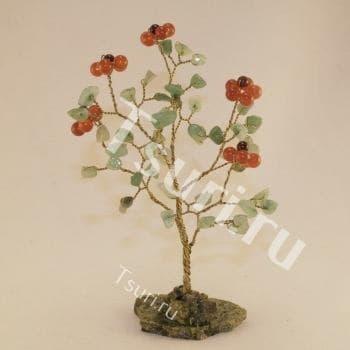 Божественный цветок Сердолика из камня