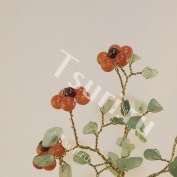 Цветы из камня Божественный цветок Сердолика