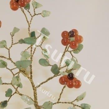 Подарки из камня Божественный цветок Сердолика
