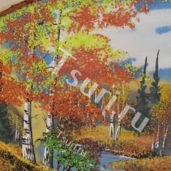 Подарок из камня Картина Золотая Осень