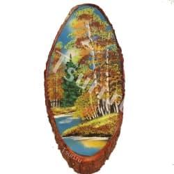 thumb_1144312 Картины из камня на срезе дерева