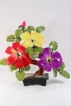 thumb_1620011 Каменный цветок из самоцветов