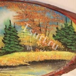 thumb_2965347b Картины из камня на срезе дерева