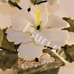 thumb_572419ba Каменный цветок из самоцветов