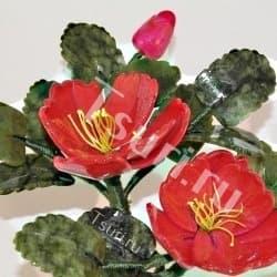 thumb_634079a Каменный цветок из самоцветов