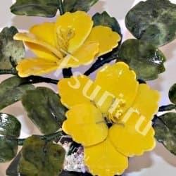 thumb_634081a Каменный цветок из самоцветов