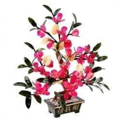 Цветочное Древо с чашами изобилия и монетами благополучия