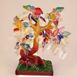 Древо с цветными листочками