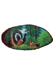 thumb_8014010pt Картины из камня на срезе дерева