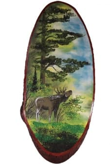 thumb_8015910los Картины из камня на срезе дерева