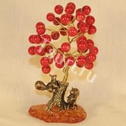 Хризолитовое дерево счастья с белочками