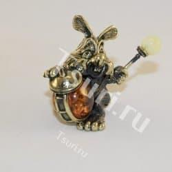 thumb_ar00271a Статуэтки и фигурки из бронзы на янтаре