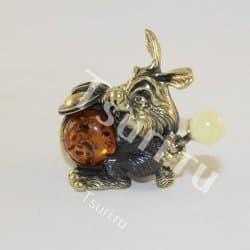 thumb_ar00271b Статуэтки и фигурки из бронзы на янтаре