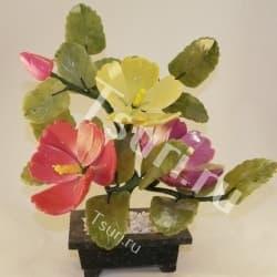 thumb_g29194 Каменный цветок из самоцветов