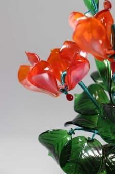 thumb_glass000124a Подарить на 13 лет свадьбы ландыши из стекла