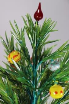 thumb_glass000290b1 Елочка лесная красавица из цветного стекла ручной работы