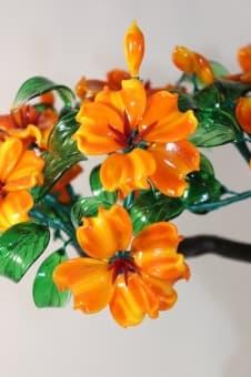 Стеклянный цветок