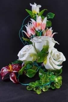 thumb_glass00140 Цветы из цветного стекла авторские работы