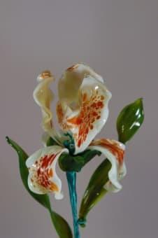 thumb_glass00183-white Стеклянный цветок ирис glass00183w