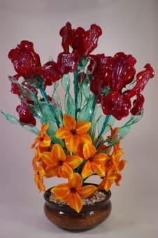 thumb_glass00186r Цветы из цветного стекла авторские работы