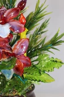 thumb_glass00196b1 Сувенир из стекла новогодний сюрприз ручной работы