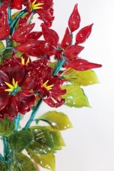 thumb_glass00219redb Цветы из цветного стекла авторские работы