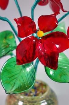 thumb_glass00247a1 Стеклянный цветок фиалки glass00247