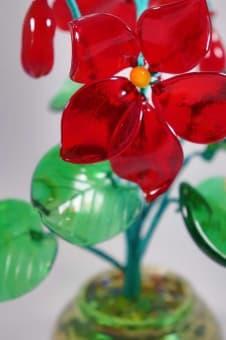 thumb_glass00247b1 Стеклянный цветок фиалки glass00247