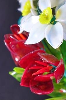 thumb_glass00299a Цветы из цветного стекла авторские работы