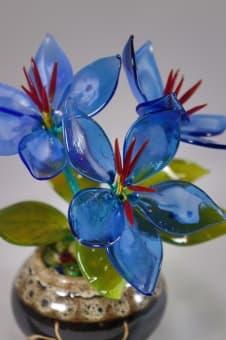 thumb_glass0099a Стеклянный цветок цветочек glass0099