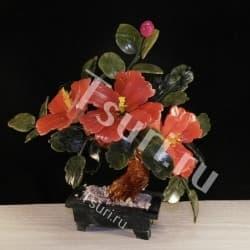 thumb_p17017 Каменный цветок из самоцветов