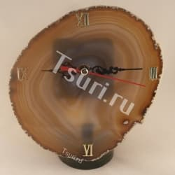 Настольные часы из Агата