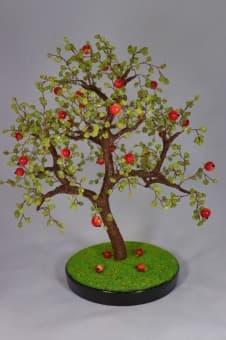 thumb_ru00100hc1 Райская Яблонька из натуральных камней